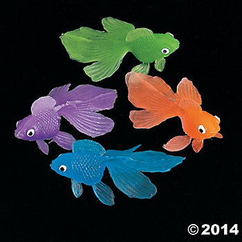 Colorful GoldFish 144 Pk