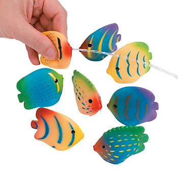 Fish Tropical Squirts 12 Pk