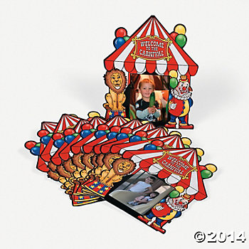 Carnival Big Top Photo Cards - 12 Pk