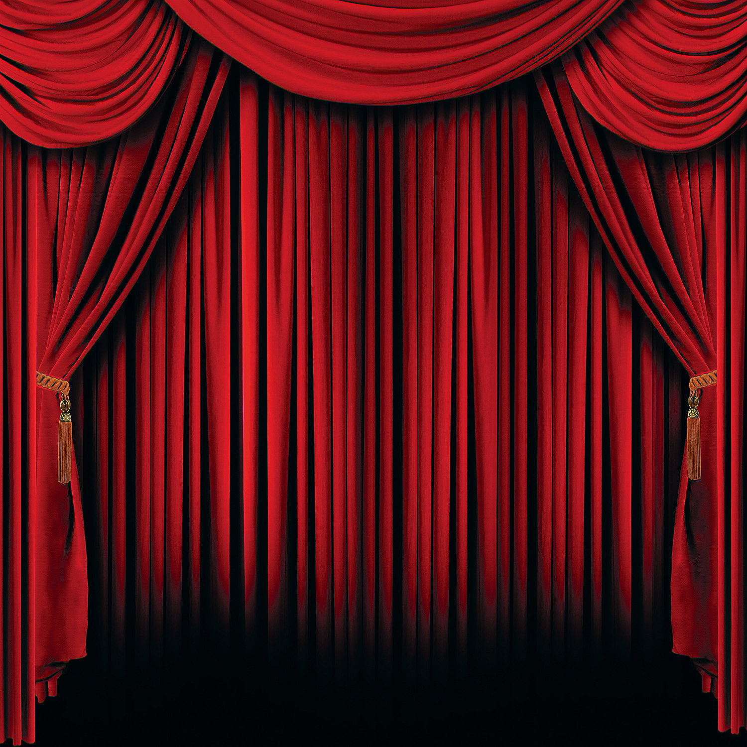 Red Curtain 6 Ft By 6 Ft Backdrop Party Supplies Canada