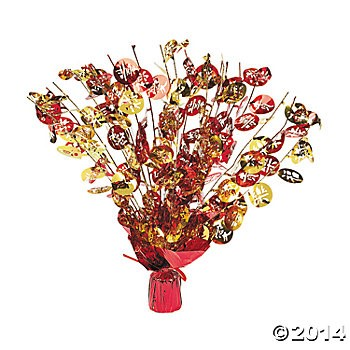 Chinese New Year Big Foil Centerpiece