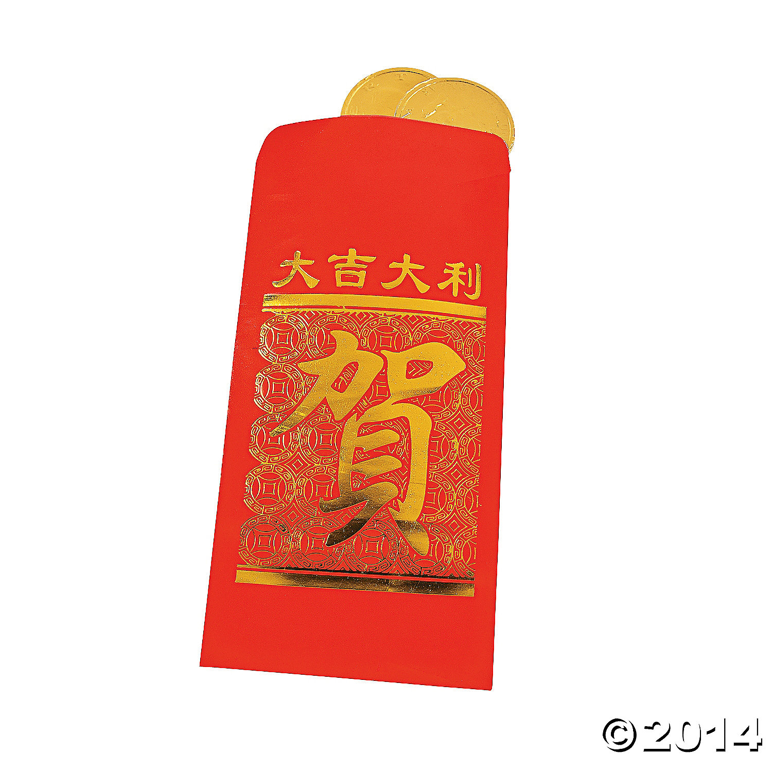 Chinese New Year Lucky Money Bags - 24 Pk
