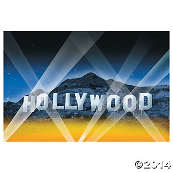 Hollywood Giant 9 Ft. Backdrop