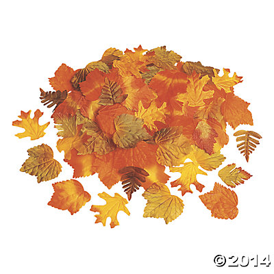 Decorative Fall Leaves 250pc