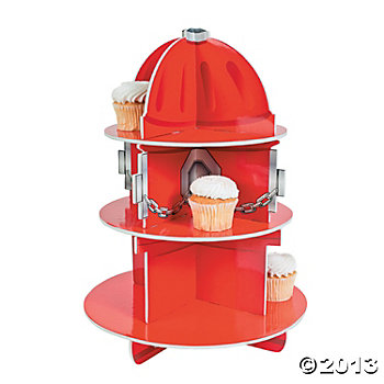 Fire Hydrant Cupcake Stand (holds 24)