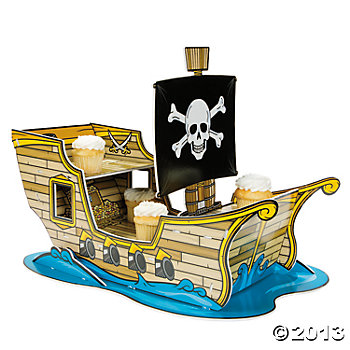 Pirate Party Supplies - Jumbo Cupcake Holder
