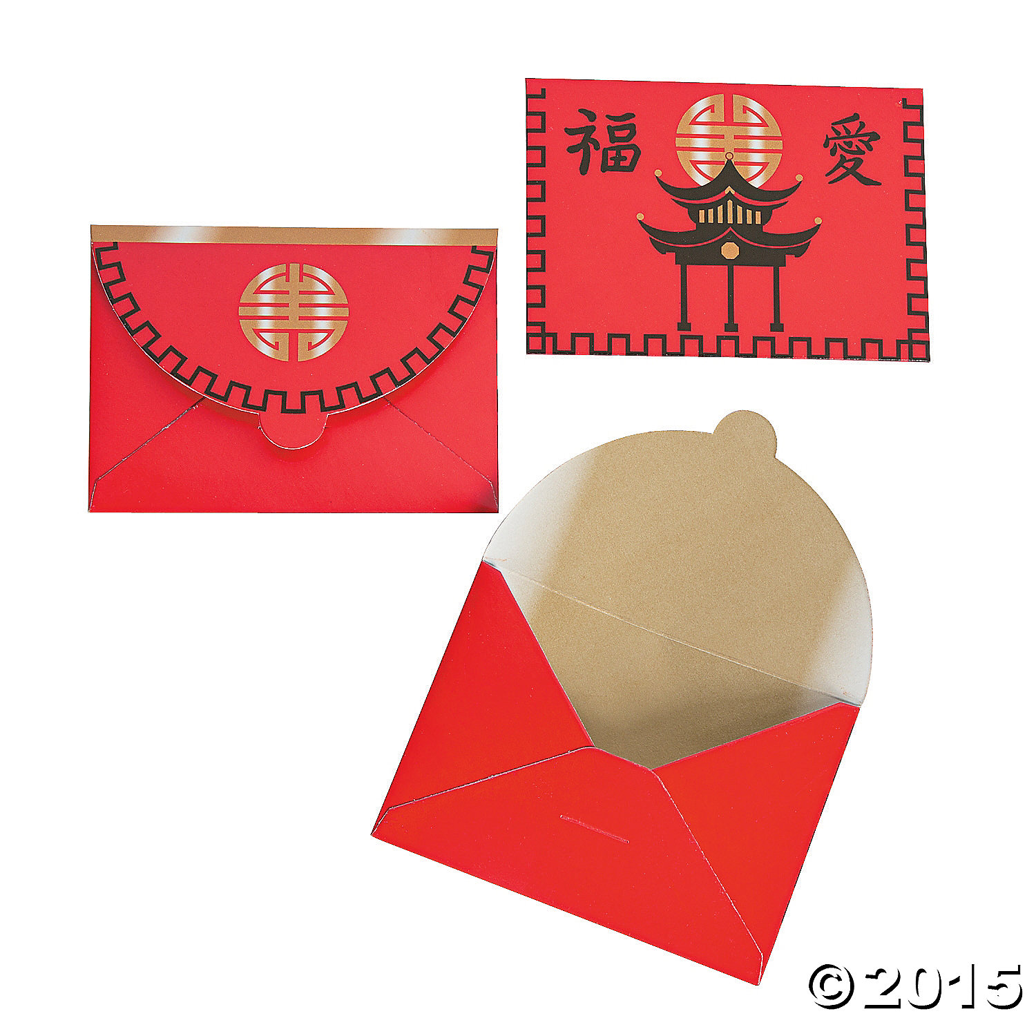 60% OFF: Chinese New Year Favor Envelopes - 12 Pk