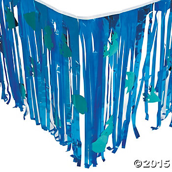 Under the Sea 9 Ft. Deluxe Cutout Tableskirt