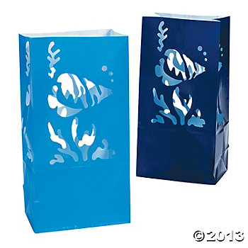 Sea Luminary Bags 12 Pk
