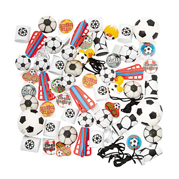 Soccer Toy Assortment 50 Pack