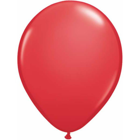 "Red 11"" Latex Balloons 100 Pk"