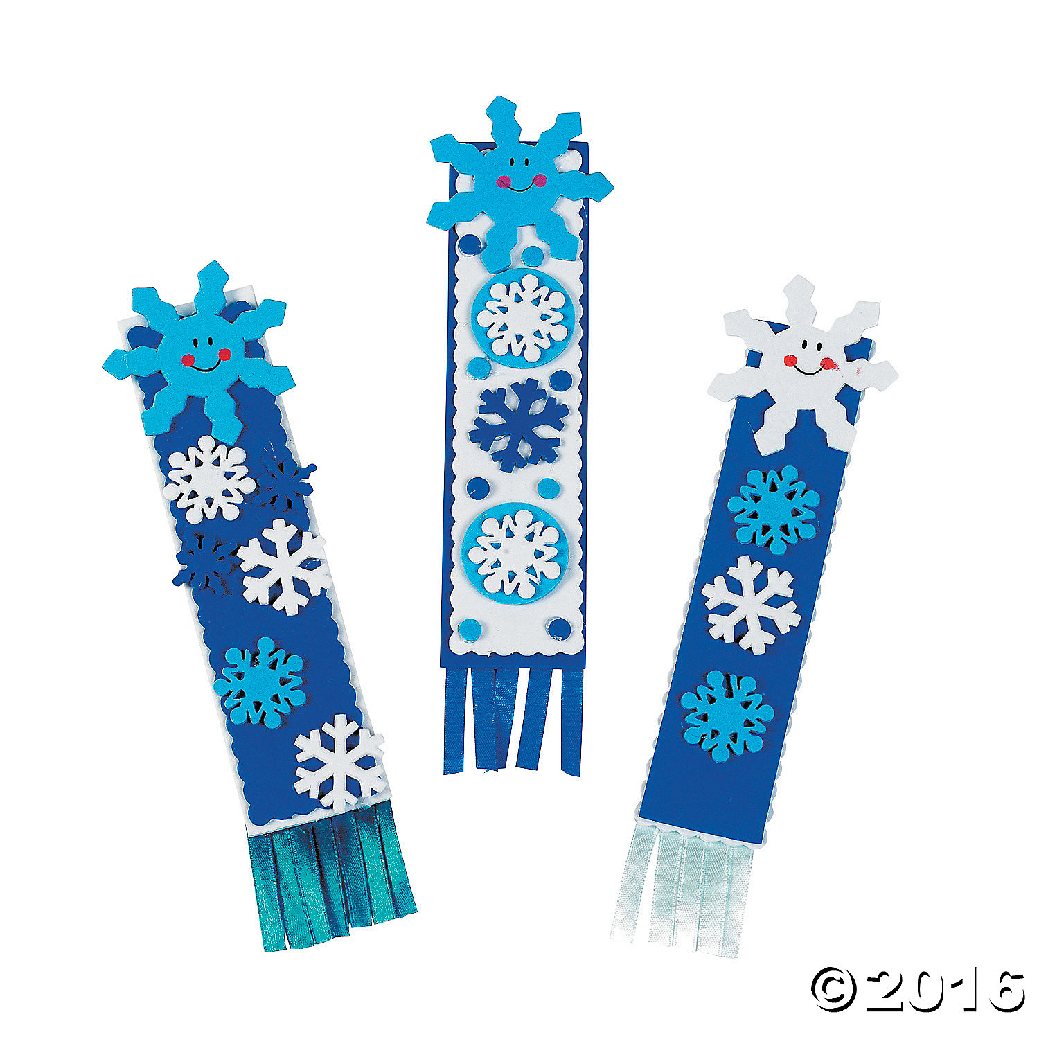 Snowflake bookmark craft kit 12pk party supplies canada for Craft stores in canada