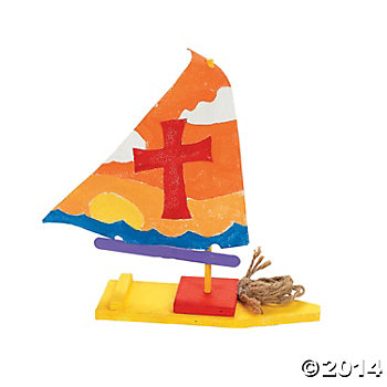 DIY Unfinished Sailboat Kits - 12 Pk