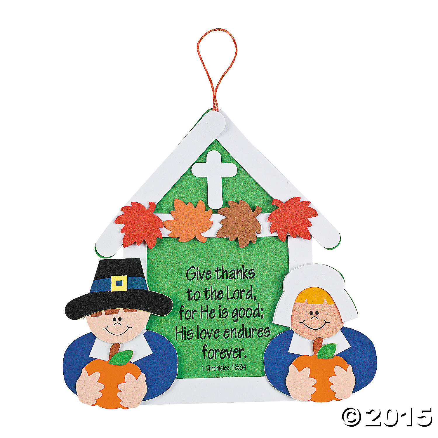 Religious give thanks sign craft kit 12 pk party for Craft stores in canada