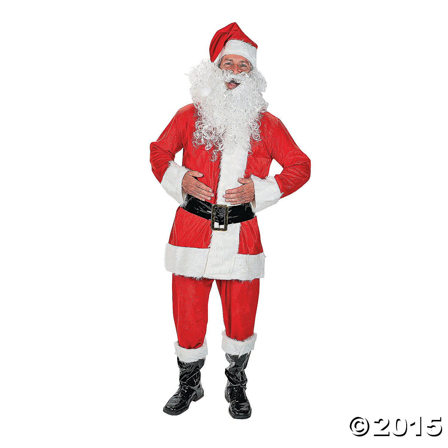 6bd2d3e86a1 Santa Suit Velvet Costume - Adult Party Supplies Canada - Open A Party