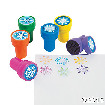 Snowflake Self Inking Stamper