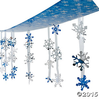 Snowflake 12 Foot Ceiling Decor