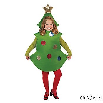 Christmas Tree Costume - Child