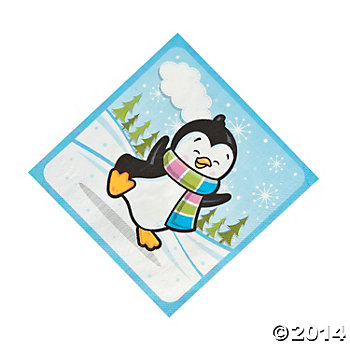 Penguin Party Lunch Napkins 16 Pk  sc 1 st  Open A Party & Penguin Birthday Party Supplies Party Supplies Canada - Open A Party