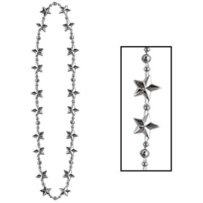 Star Beads Silver 1 Pk