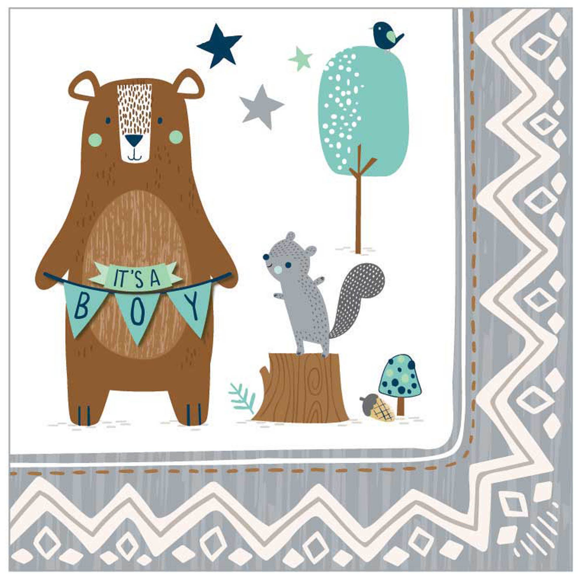 Woodland Boy Baby Shower Supplies Party Supplies Canada Open A Party