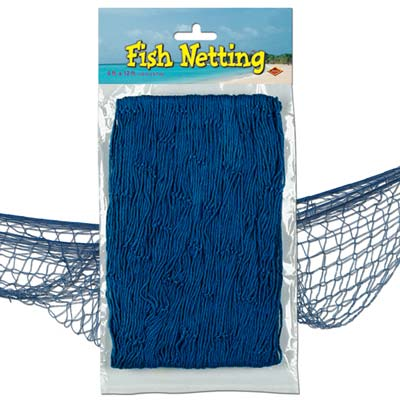 Blue Fish Netting - 4' x 12'