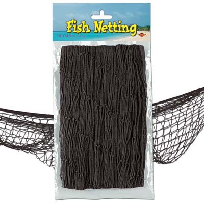Black Fish Netting - 4' x 12'