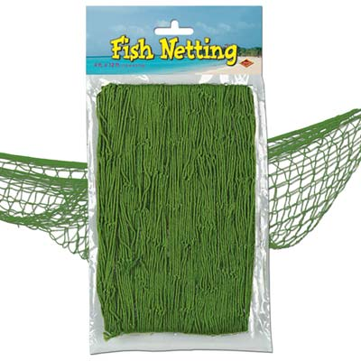 Green Fish Netting - 4' x 12'