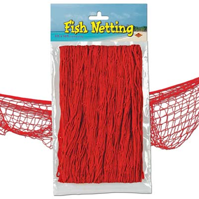Red Fish Netting - 4' x 12'
