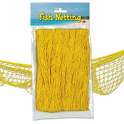 Yellow Fish Netting - 4' x 12'