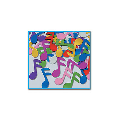 Music Note Table Confetti - Multi Colour