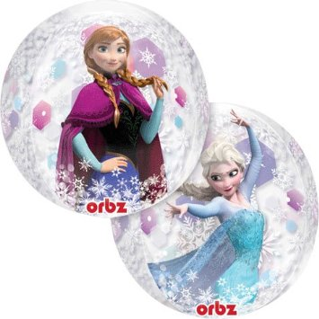 Disney Frozen: Clear 4 Sided ORBZ Balloon