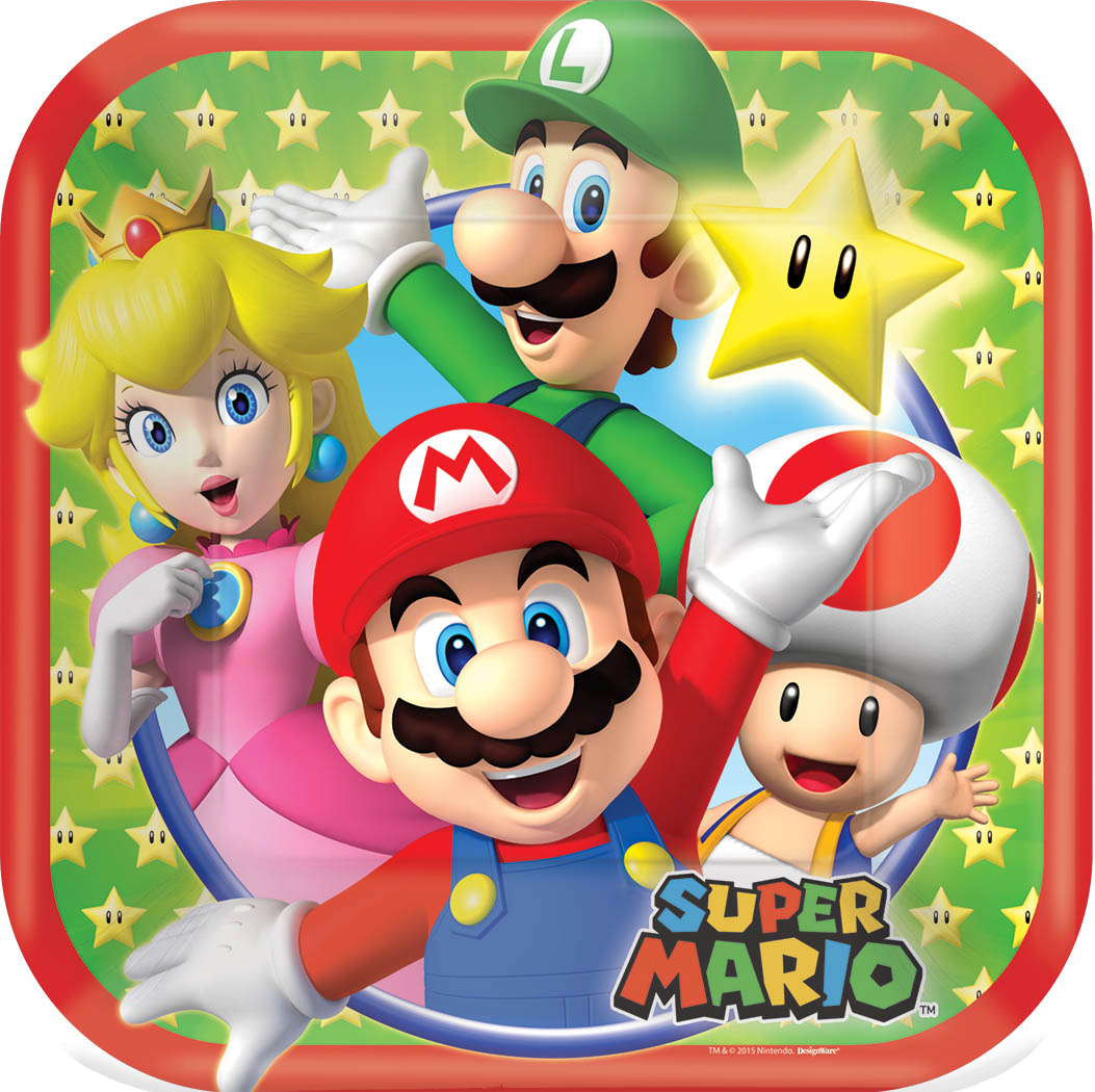 Super Mario Birthday Party Supplies Party Supplies Canada Open A Party