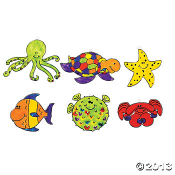 Sea Suncatchers 24 pk