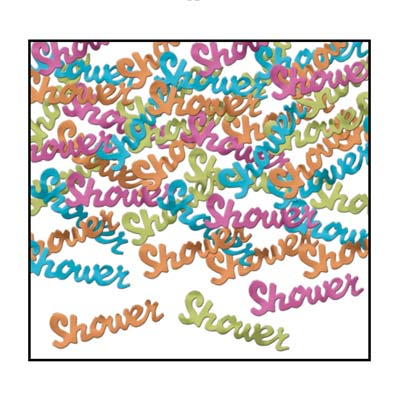Shower Multi Coloured Table Confetti