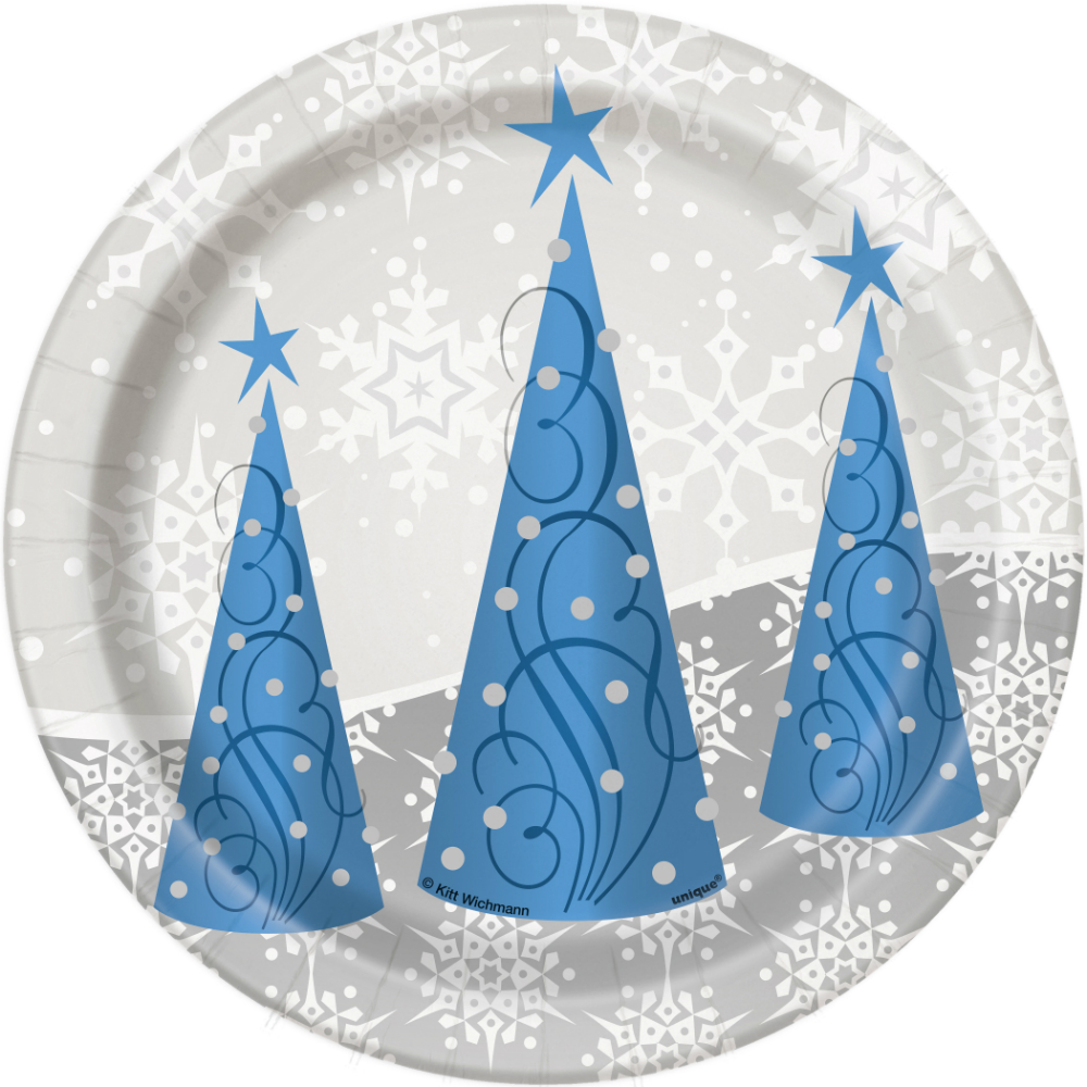 50% OFF Silver Snowflake Dessert Plates - 8 Pk  sc 1 st  Open A Party & Winter Wonderland Party Party Supplies Canada - Open A Party