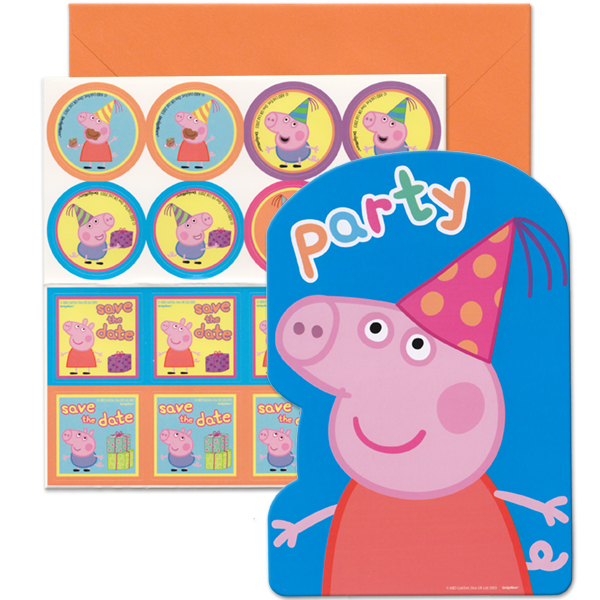 Peppa Pig Birthday Party Supplies Party Supplies Canada Open A Party