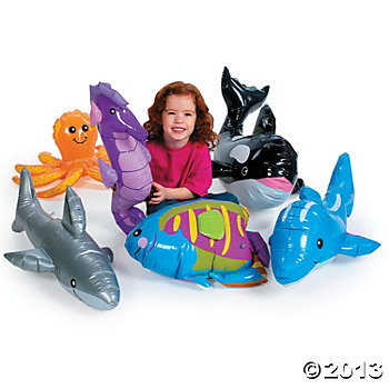Under The Sea Giant Animals - 6 Pk