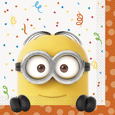 50% Off: Minions Lunch Napkins 16 Pk