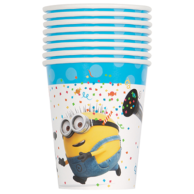 50% Off: Minions Cups 8 Pk