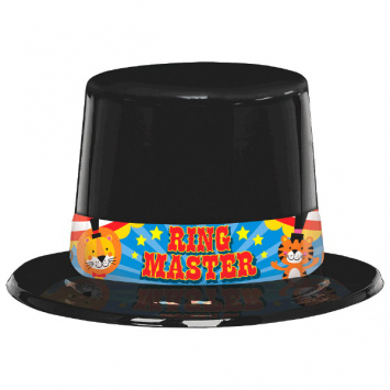 50% OFF: Carnival Ring Master Hat