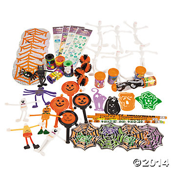 Halloween Toys: Novelty Assortement - 50 Pk