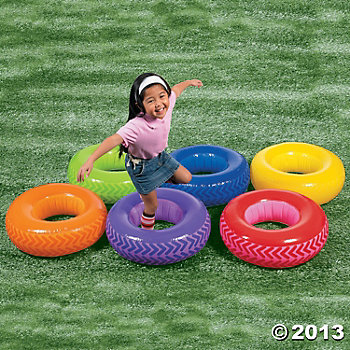Obstacle Course Tire Set