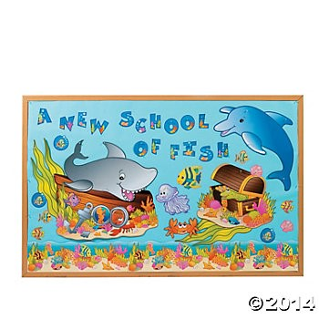 Under the Sea! Bulletin Board Set