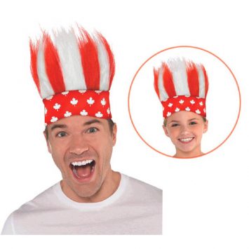 50% OFF: Canada Day Crazy Hair One Size Headband
