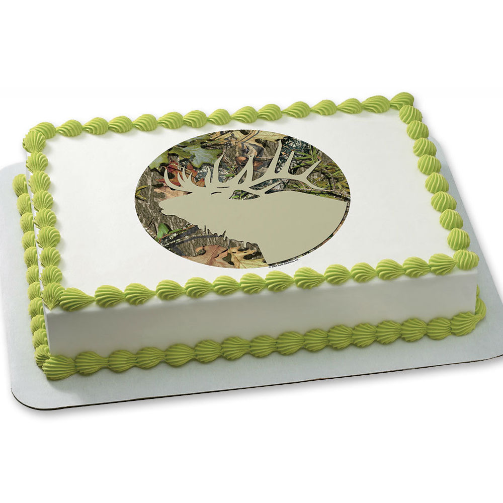 Hunting Party Mossy Oak Obsession Edible Icing