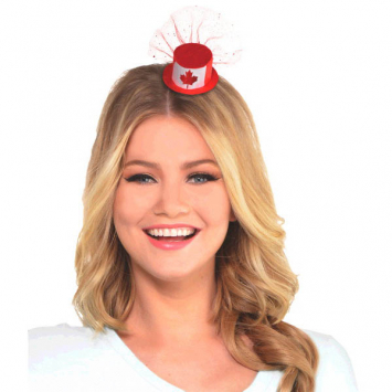 60% OFF: Canada Day Deluxe Hat Hair Clip
