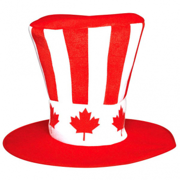 50% OFF: Canada Day Fabric HIGH Hat
