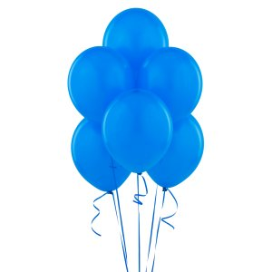 Blue Latex Balloons - 10 Pk