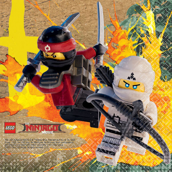 invitation ninjago gratuite